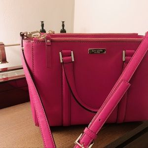 Hot Pink Kate Spade Crossbody